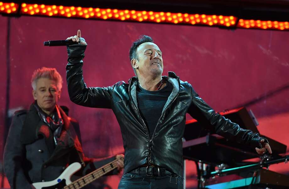 """Bruce Springsteen will be backed by the E Street Band — not U2 — when he performs """"The River"""" at Oakland's Oracle Arena on March 13. Photo: Timothy A. Clary, AFP / Getty Images"""