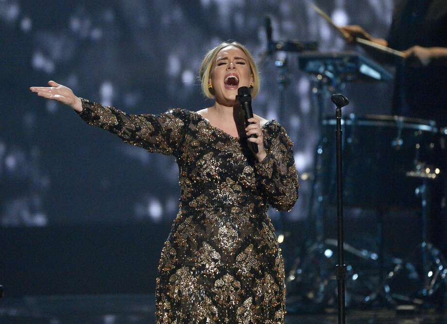 Adele has two shows set for San Jose (July 30-31) and one for Oakland (Aug. 2), but if you don't have tickets yet you may not be able to afford them. Photo: Virginia Sherwood, Associated Press