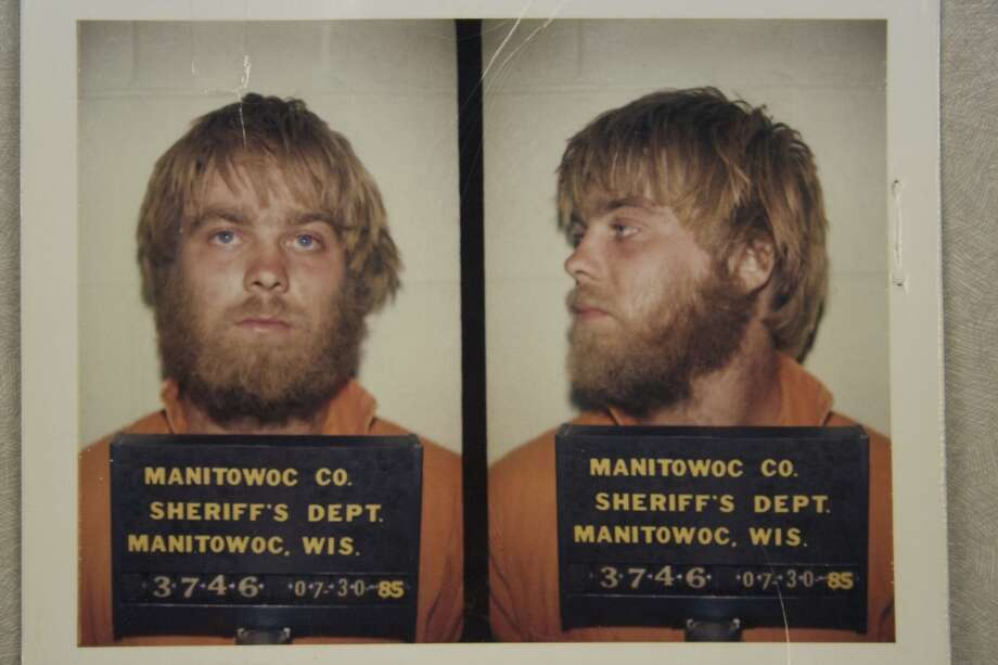"Steven Avery's mugshots featured in the hit Netflix series ""Making a Murderer"" are pictured. Avery's attorneys will speak at an event in Houston.  Photo: Netflix"