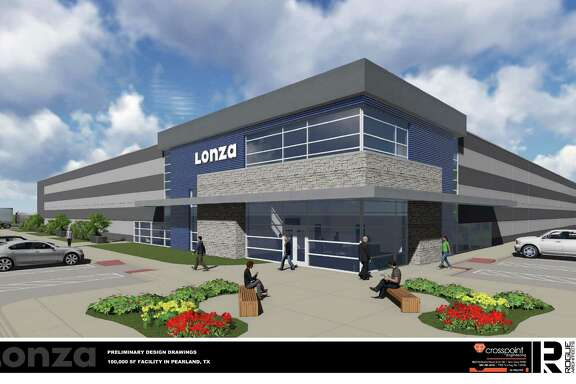 Lonza Houston Inc. is constructing a biotech facility for viral and immunotherapy development and manufacturing in Pearland's Lower Kirby District.  Lonza Houston Inc. is constructing a biotech facility for viral and immunotherapy development and manufacturing in Pearland's Lower Kirby District.
