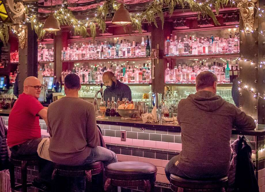 People have drinks at Whitechapel in San Francisco, Calif., on December 28th, 2015. Photo: John Storey, Special To The Chronicle