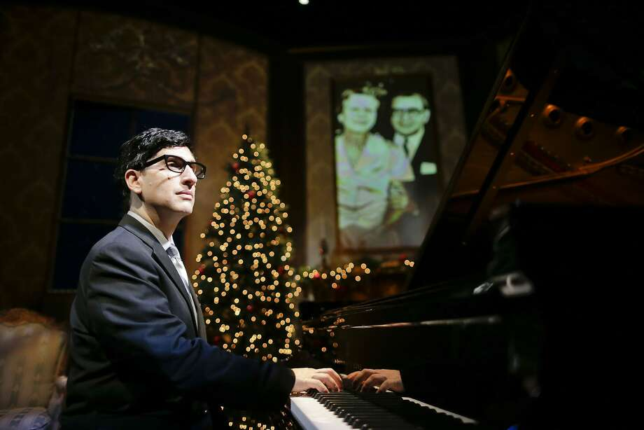 """Hershey Felder Irving Berlin 1.jpg TheatreWorks Silicon Valley presents """"Hershey Felder as Irving Berlin,""""  a new work by performer/playwright/director Hershey Felder that continues through Feb. 14 at the Mountain View Center for the Performing Arts. Photo courtesy of Eighty Eight Entertainment Photo: Eighty Eight Entertainment"""