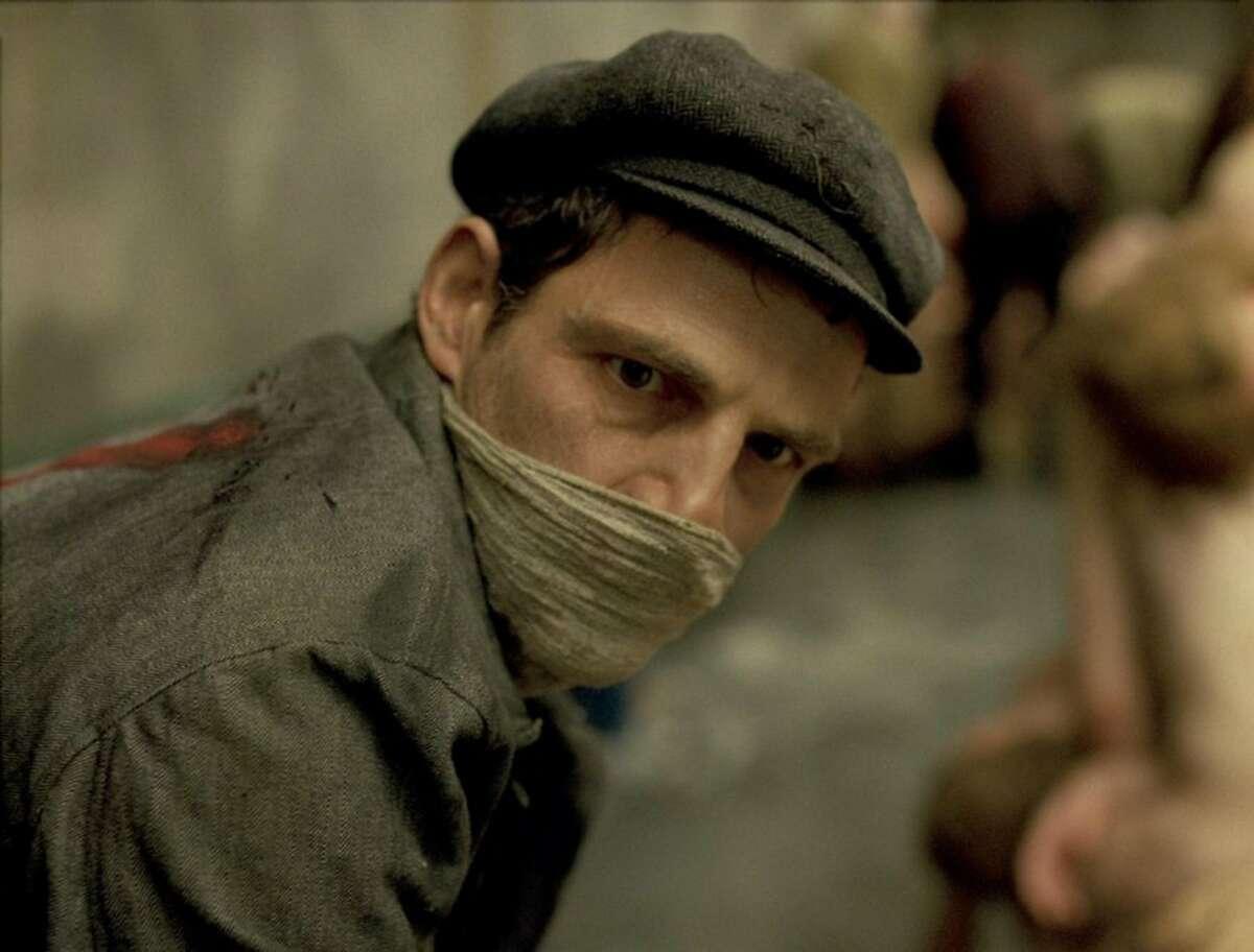 """Geza Rohrig in """"Son of Saul."""" (LaoKoon)"""
