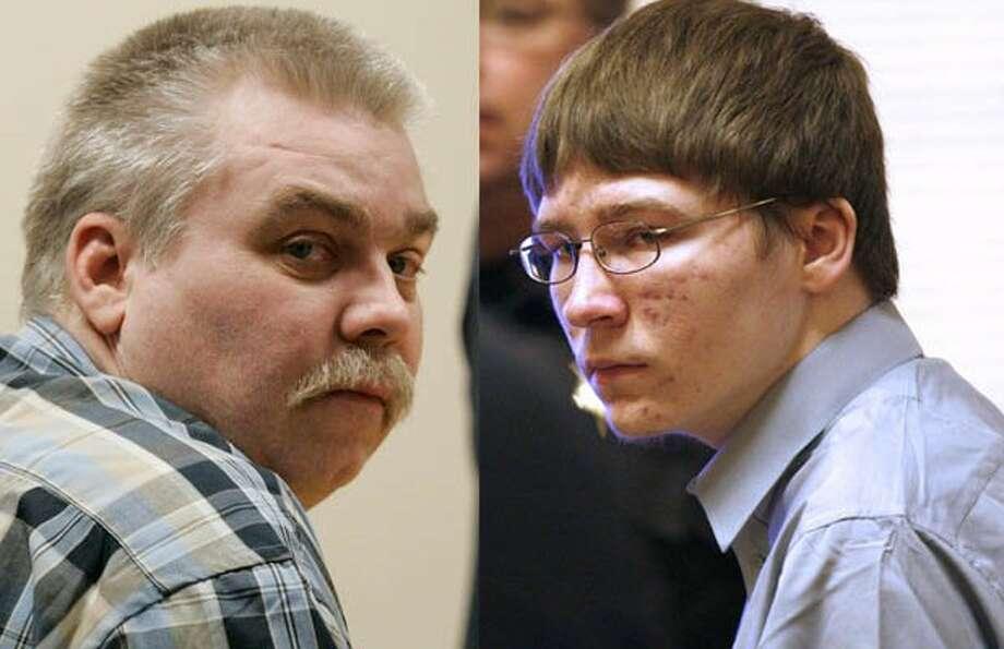 "Steven Avery (left) and Brendan Dassey (right)>>KEEP CLICKING FOR ""MAKING A MURDERER"" MEMES."