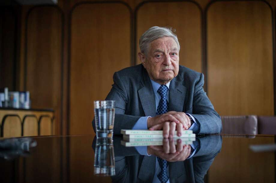 Famous billionaire and New York hedge fund manager George Soros has backed other criminal justice progressives across the country. Photo: JOSHUA BRIGHT, STF / NYTNS