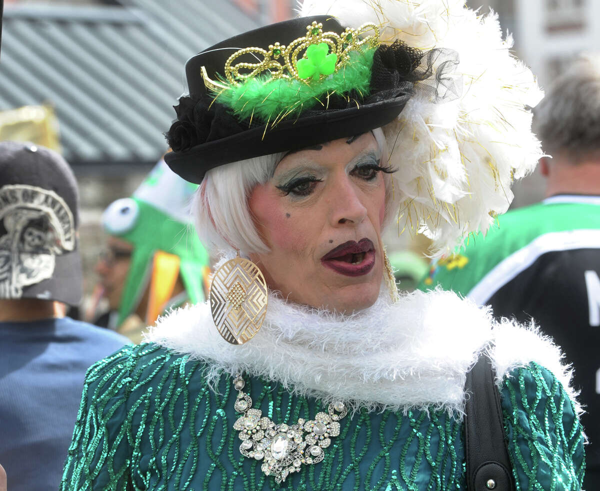 Bridgeport's 33rd annual St. Patrick's Day parade was held at noon on Tuesday, March 17, 2015.