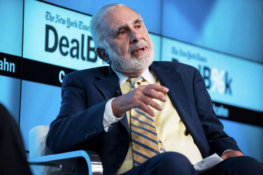 FILE - Carl Icahn, the activist investor, speaks at a conference in New York, Nov. 3, 2015. Shares of Pep Boys shot up 8 percent on Dec. 29 after Icahn Enterprises said that it had raised its bid to $18.50 a share in cash, an offer which values the auto-parts retailer also pursued by Bridgestone at roughly $1 billion. (Karsten Moran/The New York Times) Photo: KARSTEN MORAN, STR / NYTNS