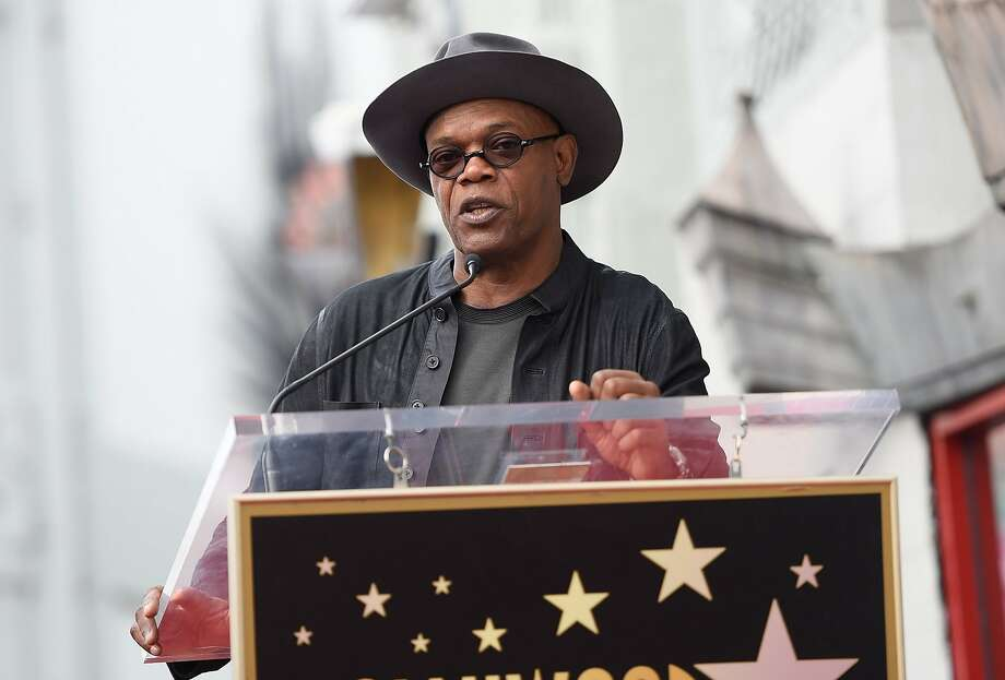 Samuel L. Jackson says he plans to vote for Hillary Clinton for president because she knows the job. Photo: Angela Weiss, AFP / Getty Images