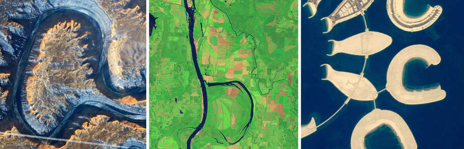 ABCs from SpaceNASA's Earth Observatory has tracked down images resembling all 26 letters of the English alphabet using only NASA satellite imagery and astronaut photography.Continue clicking to see all of the English ABCs from outer space.Source:NASA Earth Observatory