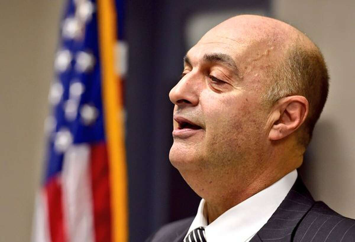 FILE - Rensselaer County Sheriff Patrick Russo