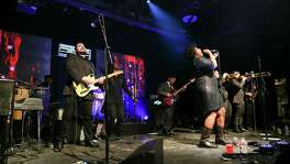 The Suffers, featuring singer Kam Franklin, bring on the funk and soul at House of Blues.