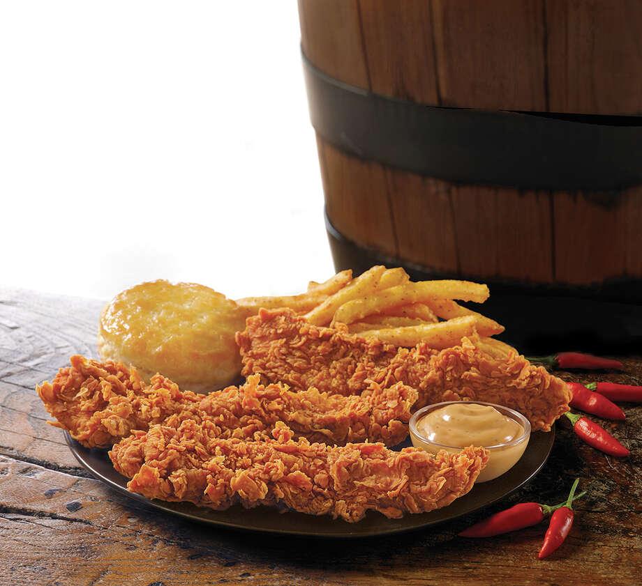 Chicken tenders from Popeyes. Photo: Popeyes