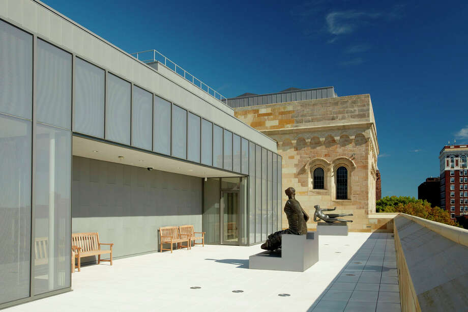 A view of the sculpture terrace at the Yale University Art Gallery, which is open free of charge. Photo: Contributed Photo / Connecticut Post Contributed
