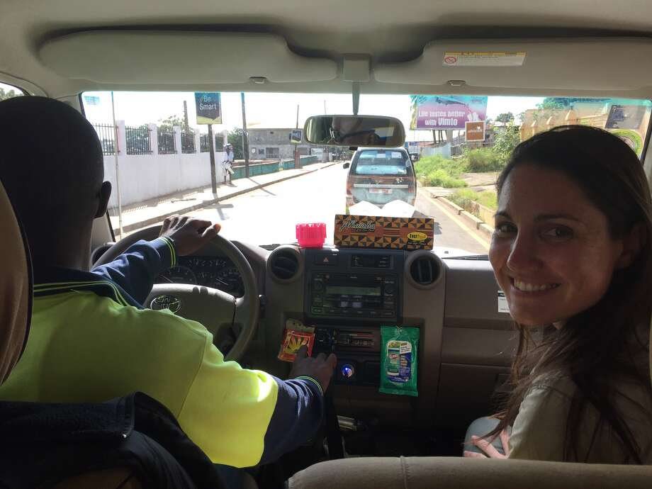Beaumont native Emily Ussery traveled to Sierra Leone to help ensure the Ebola outbreak had ended.