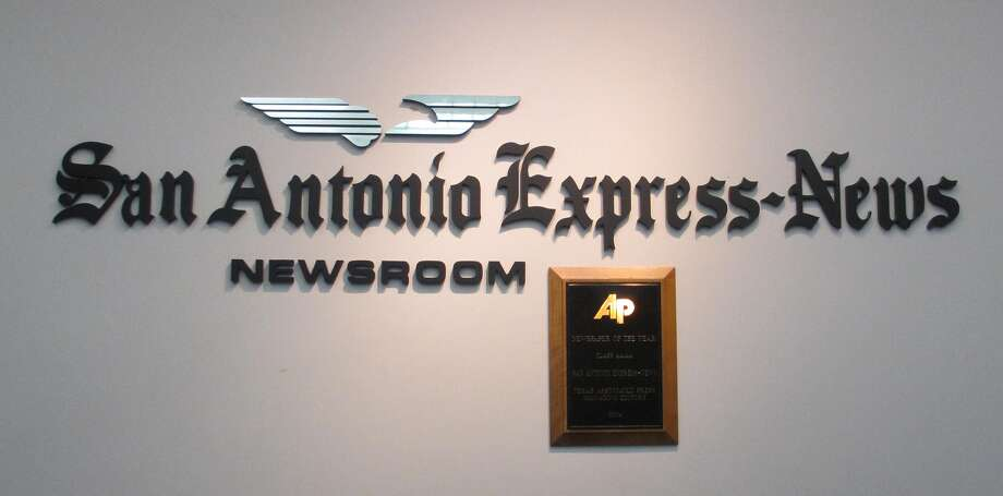The newsroom is on the second floor of the Express-News building that opened in 1929. Photo: Terry Scott Bertling / San Antonio Express-News