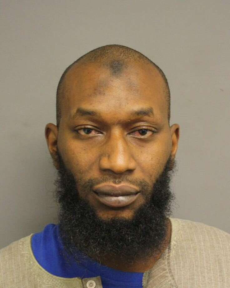 Gary Nathaniel Moore, 37, was arrested early Wednesday in connection with a Christmas Day fire at a Houston mosque, Dec. 30, 2015. (Screen shot via Twitter)