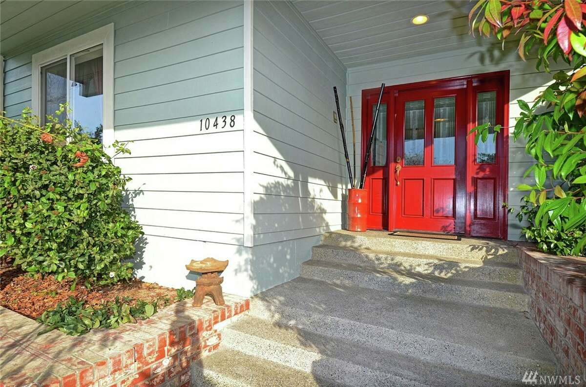 The front door of 10438 47th Ave. S.W.