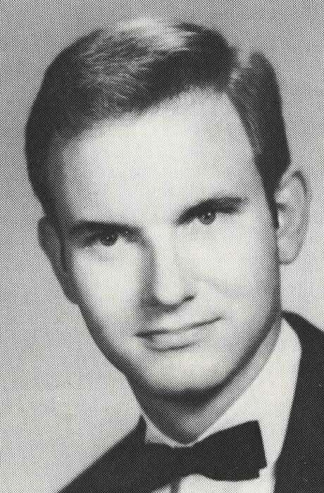 Carroll as a student at Hendrix College in Conway, Arkansas. Photo: Courtesy Photo