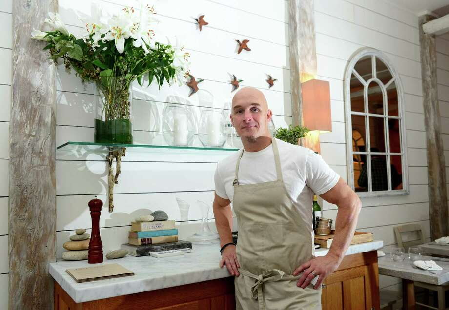 Chef Brian Lewis at The Cottage, a new restaurant in downtown Westport, Conn. on Tuesday Dec. 29, 2015. Photo: Christian Abraham / Hearst Connecticut Media / Connecticut Post