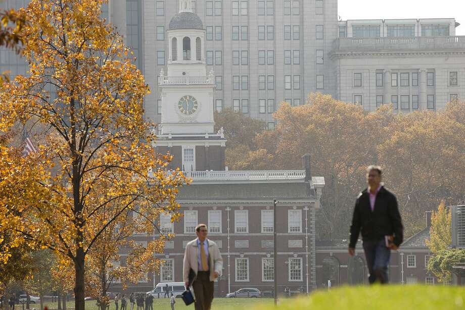 Philadelphia's Independence Hall was refurbished as part of a spending push around the 50th anniversary of the National Park Service. A smaller push is expected for the 100th anniversary. Photo: Matt Rourke, Associated Press