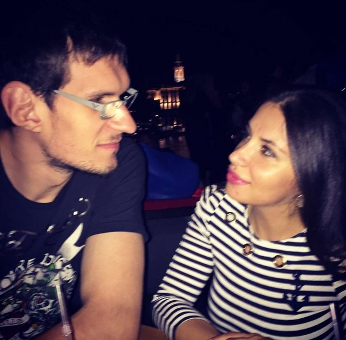 2. It was love at first sight The Marjanovics told Story.com, that they met at a birthday party in Vrsac and the heart eyes were instantaneous.