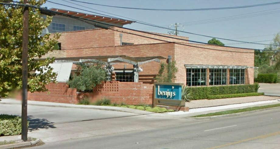 Benjy's on Washington  Address: 5922 Washington Ave., Houston, Texas 77007  Demerits: 29  Inspection highlights: Failure to provide water at 110° F.  Photo by: Google Maps
