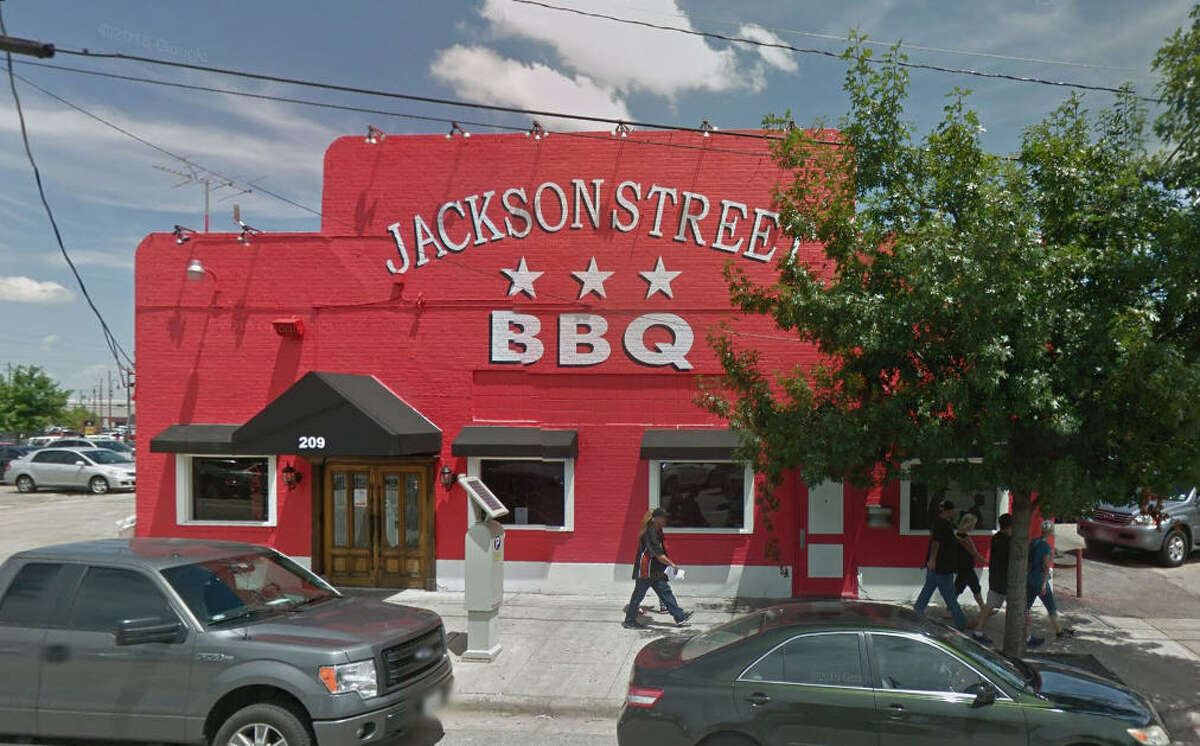 Jackson Street BBQ Address: 209 Jackson, Houston, Texas 77002 Demerits: 12 Inspection highlights: Internal temperature of potentially hazardous food not held at 41° F. (5°C) or below or at 135° F. (57° C) or above while being stored. Photo by: Google Maps