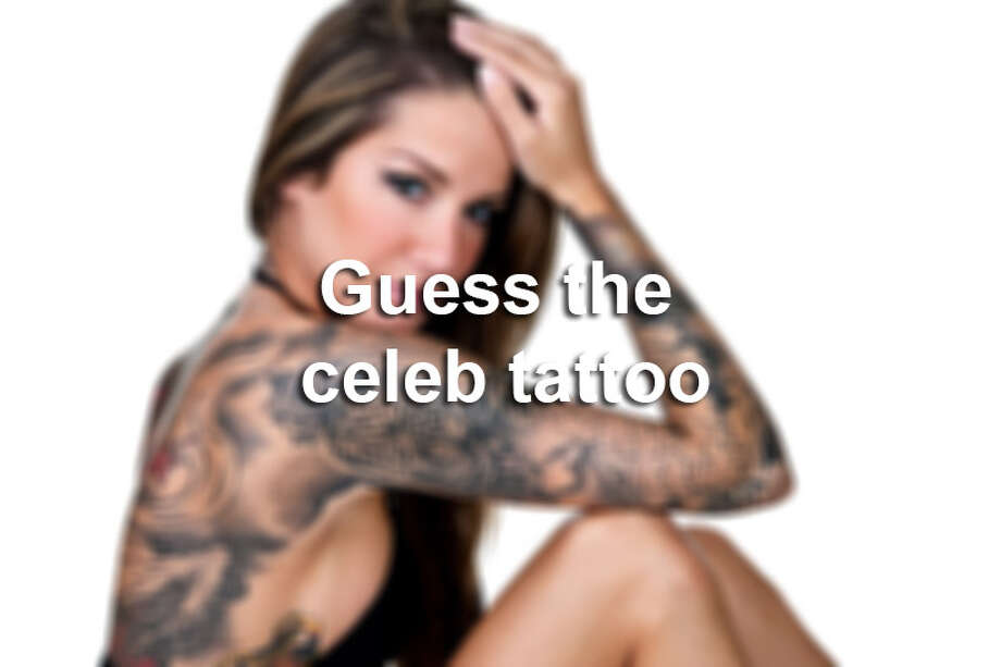 Click through the gallery to guess which tattoo is on which celebrity. / (c) Stockphoto4u