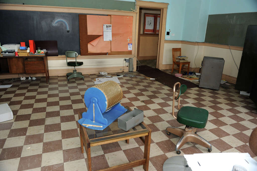 A Classroom In The Former St Patricks School On Central Avenue Friday Nov 30