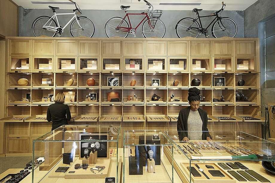 Detroit-bred brand Shinola has opened a Palo Alto store at 261 Hamilton Ave. Photo: Michael David Rose