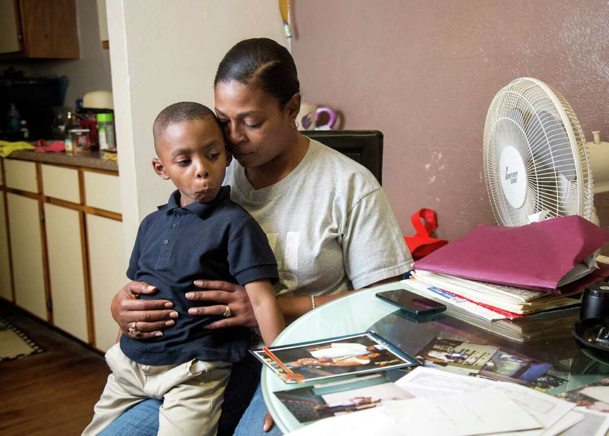 Christie Collins was planning to join her husband in Houston with their son, Cedric III.