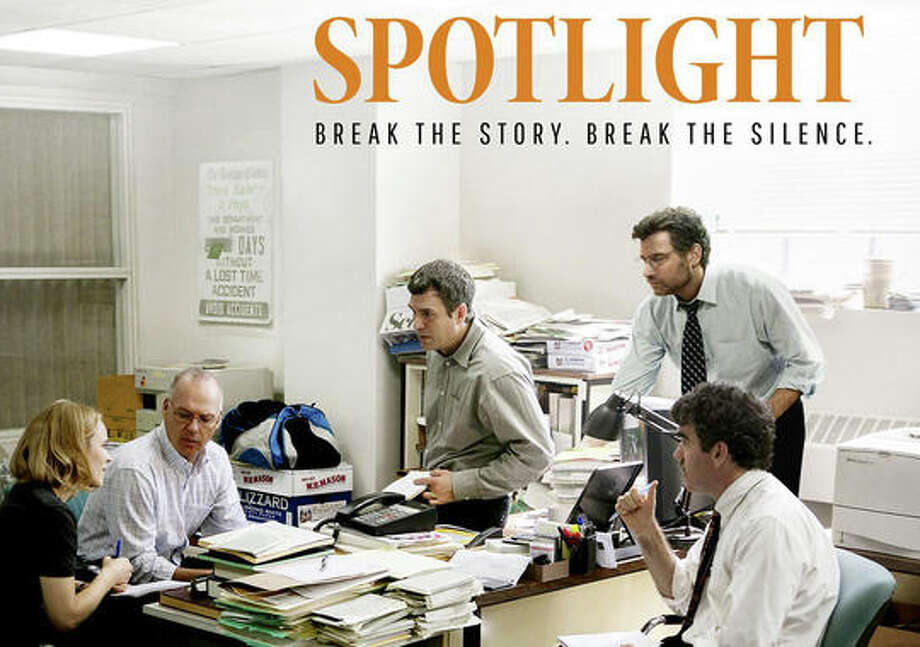 """""""Spotlight"""" is among the best movies of 2015, according to reviewer Susan Granger. Photo: Contributed / Contributed Photo / Westport News"""