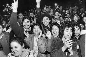 New Year's in San Antonio, back in the day