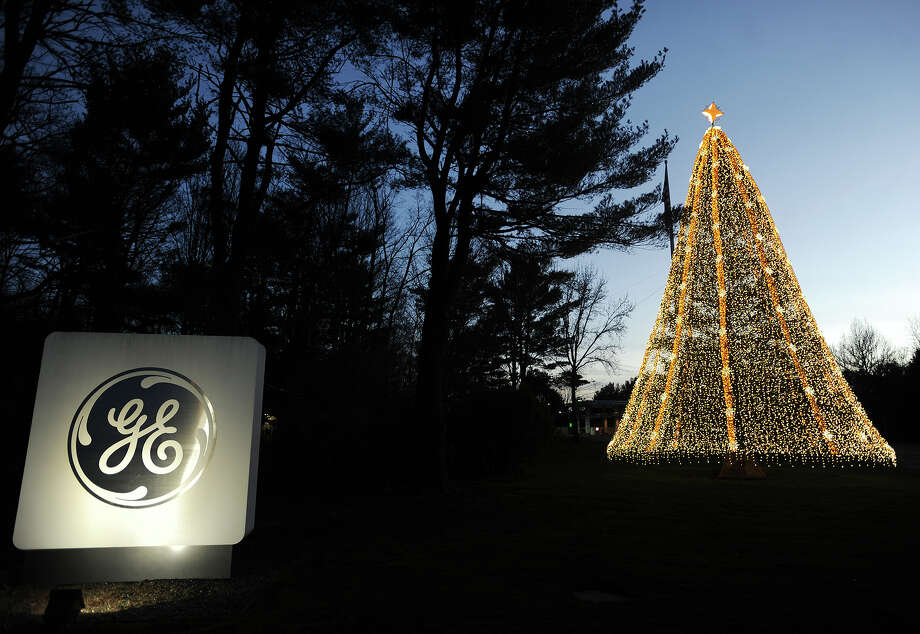 Dusk falls December 20, 2015 at General Electric headquarters in Fairfield. Entering the new year, GE employees along with all of Fairfield County and Connecticut awaited the outcome of GE's headquarters search. Photo: Brian A. Pounds / Hearst Connecticut Media / Connecticut Post