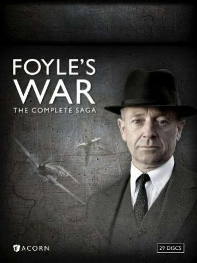 "DVD cover: ""Foyle's War: The Complete Saga"" Photo: Acorn Media"