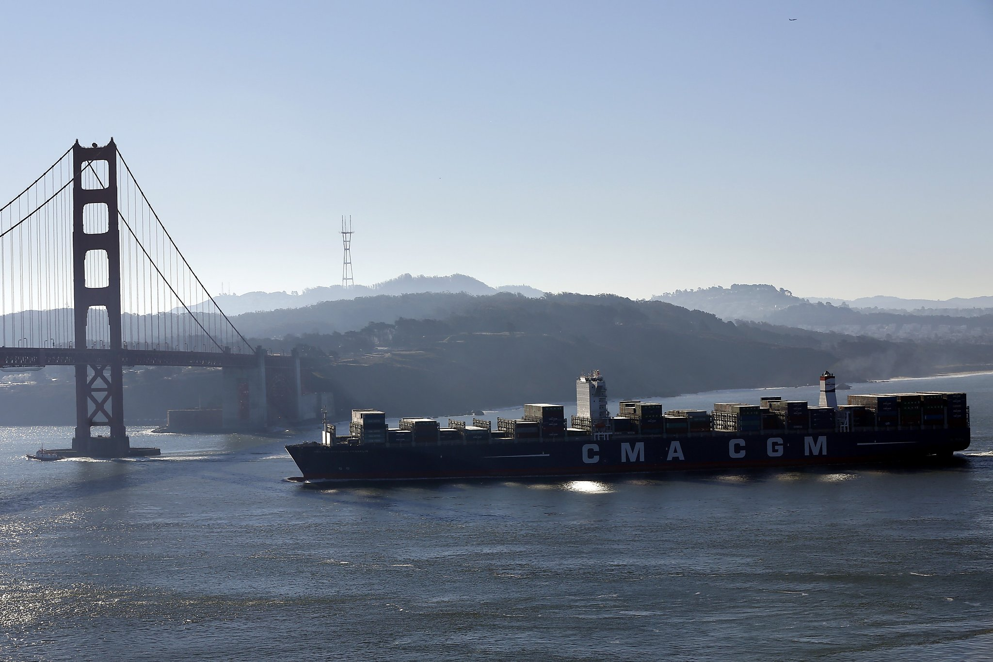 Biggest cargo ship to ever grace S.F. Bay is here - SFGate