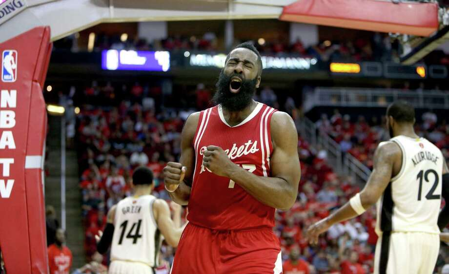 The Rockets will rely on Jason Terry and Pat Beverley to hold the point guard position, but may call upon Harden if needed. Photo: Gary Coronado, Staff / © 2015 Houston Chronicle