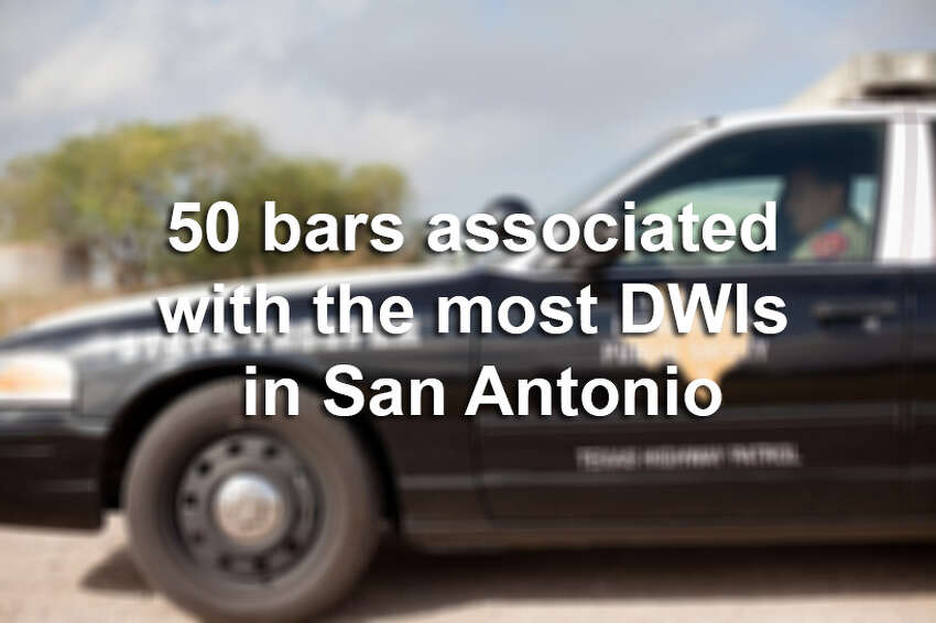Scroll through the slideshow to see which bars in the San Antonio area are associated with the most drunken driving arrests.