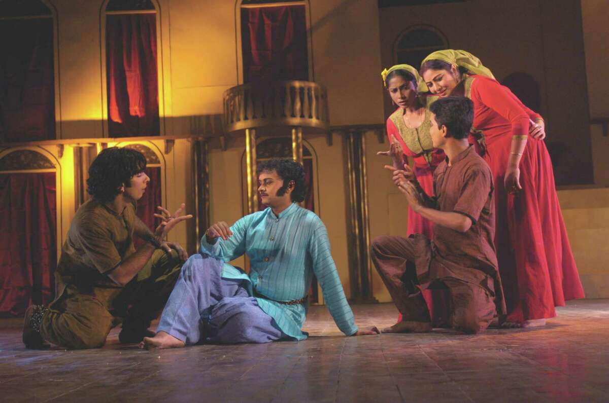 """The Indo-American Association will present a Kathak version of """"Romeo and Juliet"""" featuring 50 dancers from Kalashram, Delhi on July 22 at the Wortham Theater Center."""