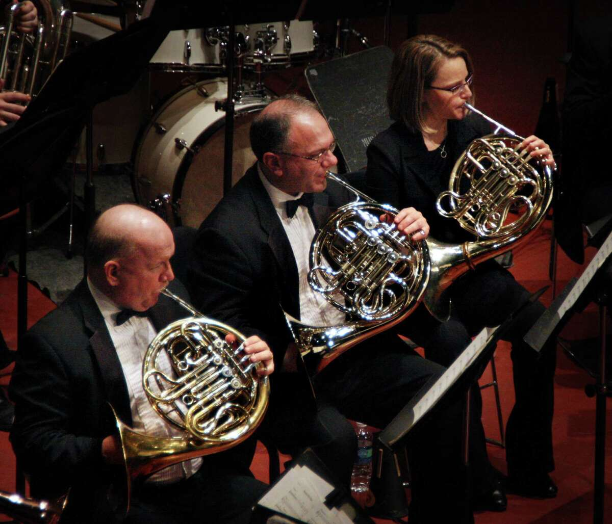 """The Indo-American Association will present the 22-member River City Brass in a """"Bollywood & Hollywood Brass Extravaganza"""" Feb. 19 at Wortham Theater Center."""