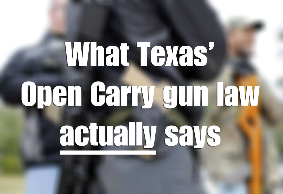 Texas' new open carry law takes affect Jan. 1, 2016. Most people might still be hazy - gun owner or not - on what exactly this means. There have many rumors about what will and will not be allowed once Texas enters 2016.