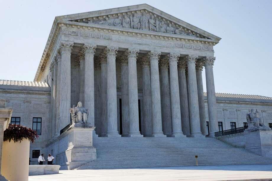 The U.S. Supreme Court Photo: Jacquelyn Martin, Associated Press