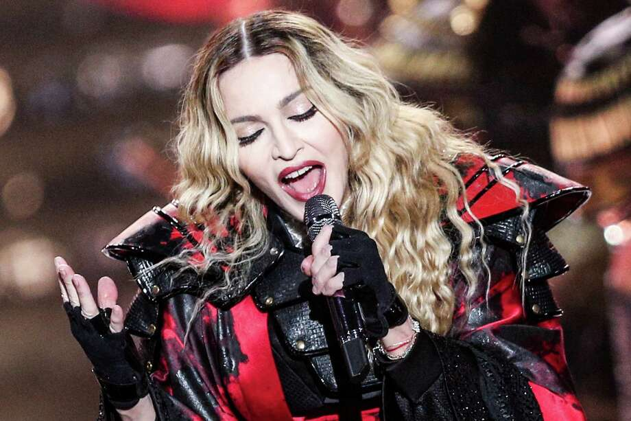 Madonna remains relevant, very much so. Her new album and spectacular concerts attest to that. Photo: Rich Fury /Associated Press / Invision