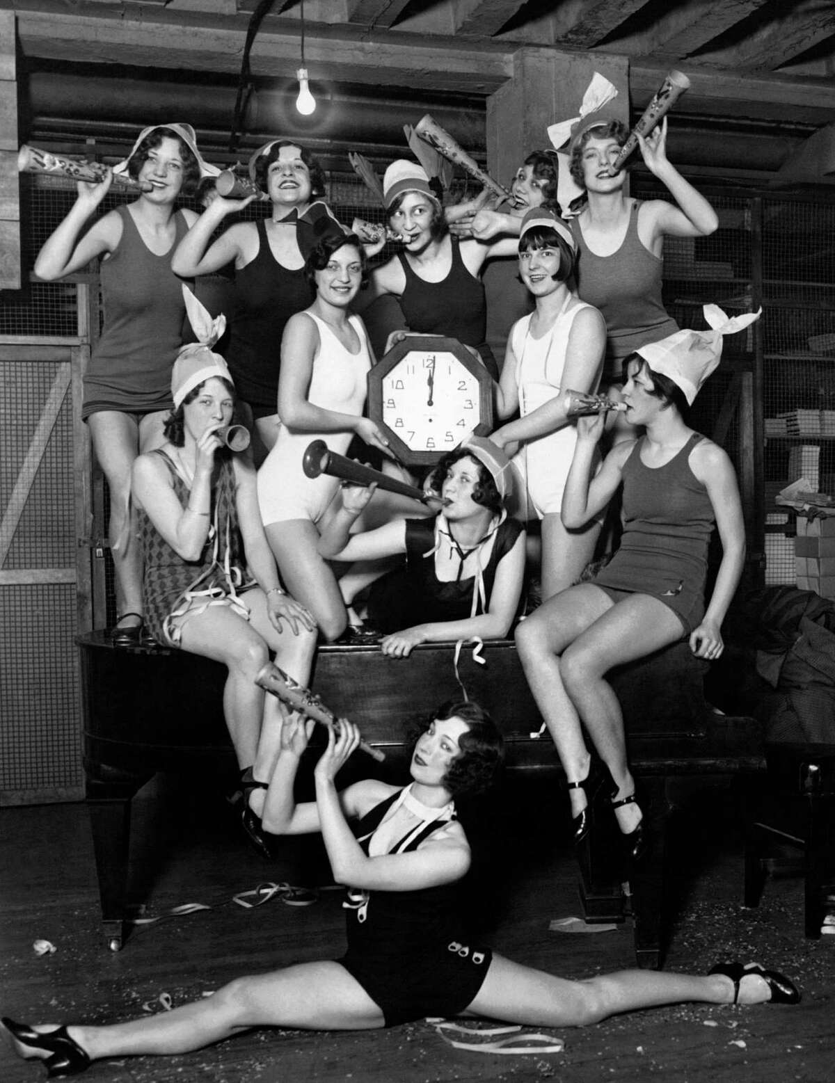 1927: A New Years Eve party in Chicago.