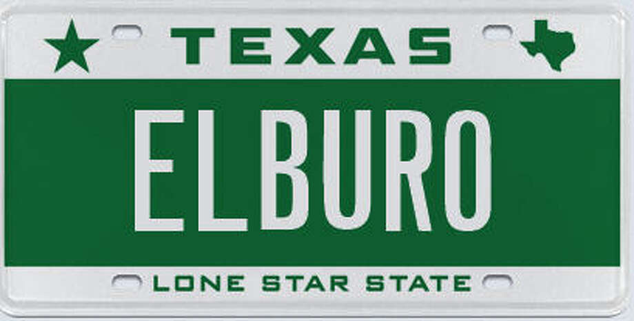 A Look At Some Of The Rejected License Plates The Texas