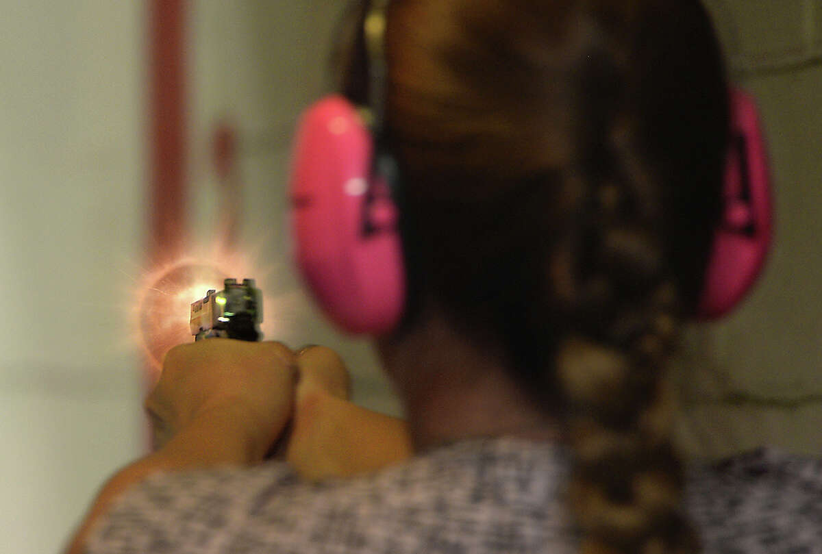 19 things you didn't know about the way women think about guns 61 percent of women who own a gun have more than one Source: Marie Claire /Harvard Injury Control Research Center