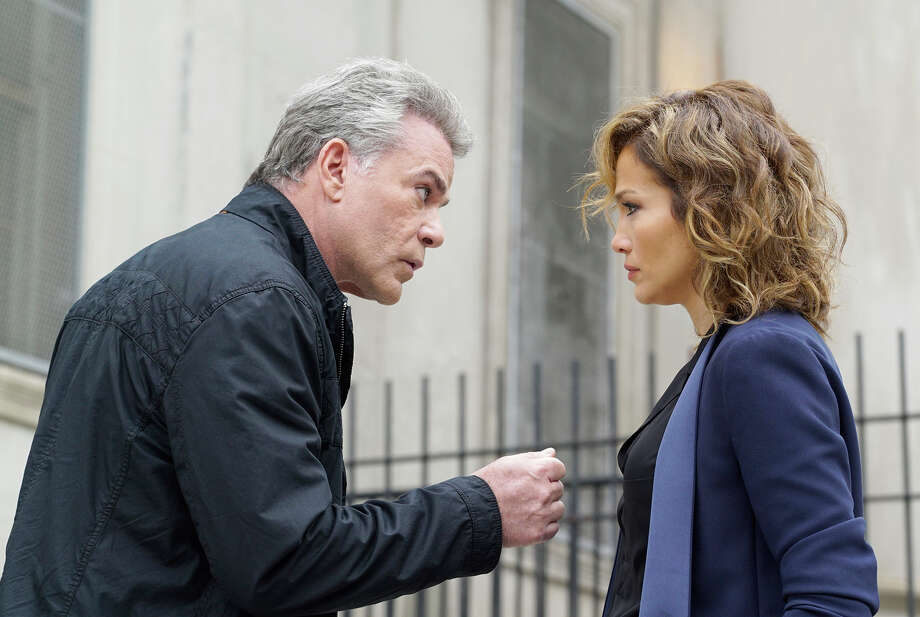 "Ray Liotta has a hard job making corrupt cop  Matt Wozniak believable, but Jennifer Lopez as Detective Harlee Santos makes ""Shades of Blue"" look better than it is. Photo: NBC / Peter Kramer / NBC / 2015 NBCUniversal Media, LLC"