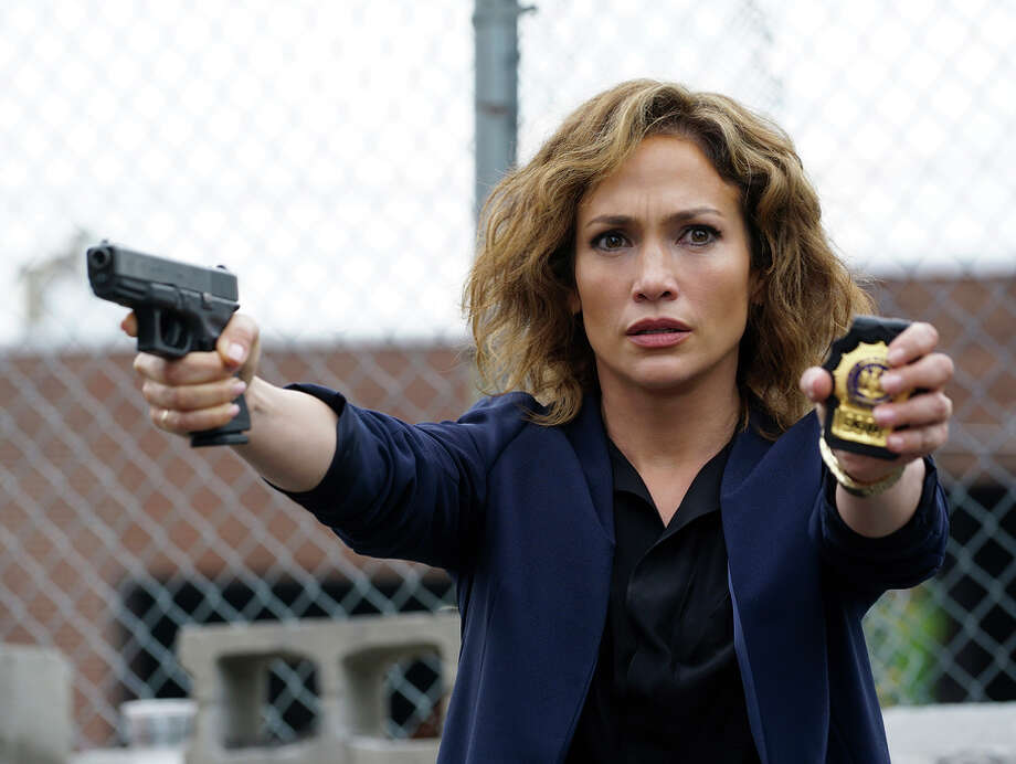 "Jennifer Lopez is believable as beleaguered Detective Harlee Santos in the new police procedural ""Shades of Blue."" Photo: NBC / Peter Kramer / NBC / 2015 NBCUniversal Media, LLC"