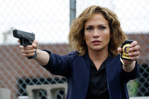 """Jennifer Lopez is believable as beleaguered Detective Harlee Santos in the new police procedural """"Shades of Blue."""""""