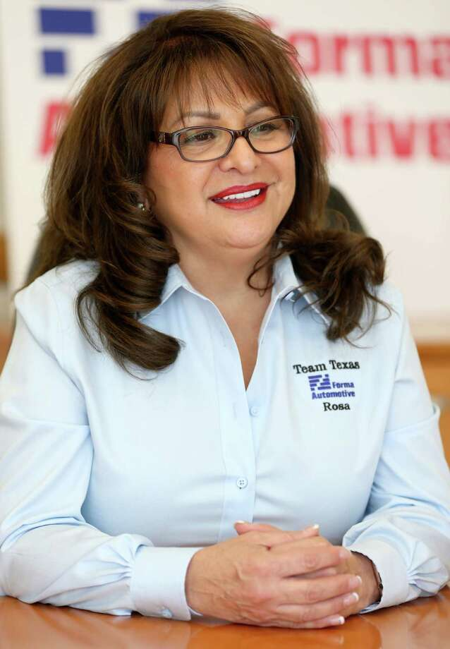 Rosa Santana, CEO of Forma Automotive, is the first Hispanic woman to own a Tier 1 direct supplier to Toyota — an auto industry designation meaning that her company sells manufactured goods straight to Toyota. Photo: William Luther /San Antonio Express-News / © 2015 San Antonio Express-News